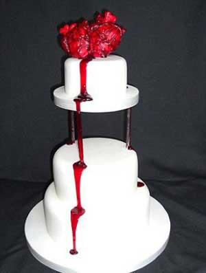 Kue Seram Berbentuk Organ Tubuh Manusia yang Kena Penyakit