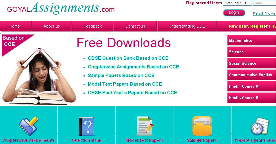 cbse assignment
