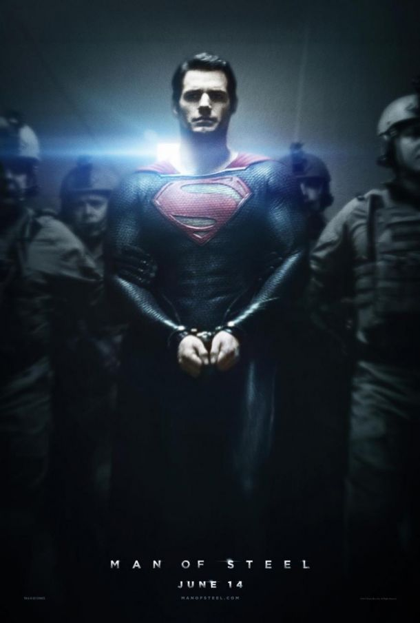 Man of Steel  (2013) Man-of-Steel-poster2-610x904