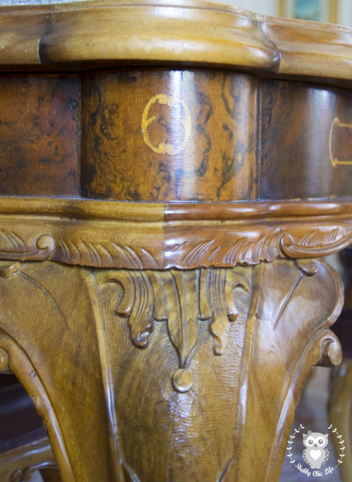 Chippendale, shabby chic brocante antichità