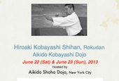 H. Kobayashi Shihan in the USA