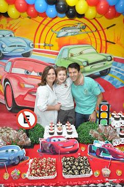 Festa Cars 2 Guilherme