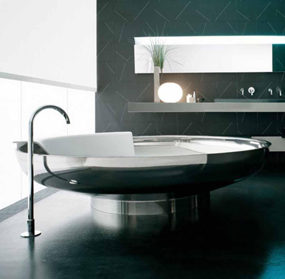 Desain Kamar Mandi Modern: Tema Kamar Mandi Futuristik