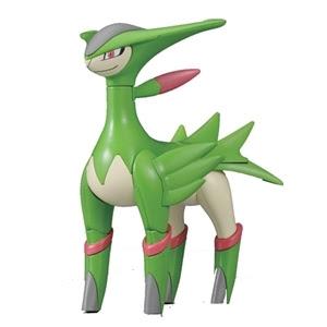 Pokemon Plamo Virizion Bandai