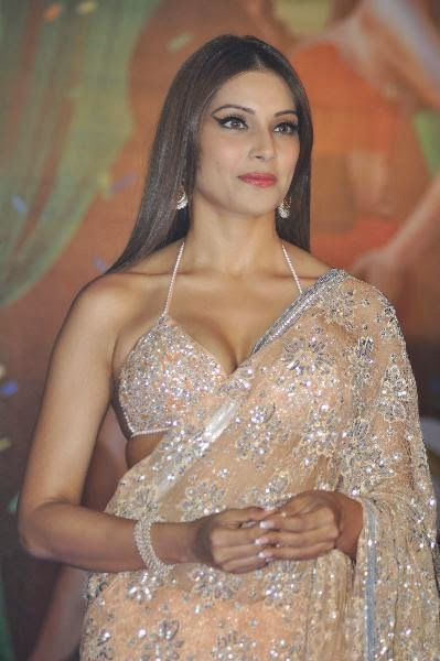 Bipasha Basu Display HOT Curves & Navel in Saree