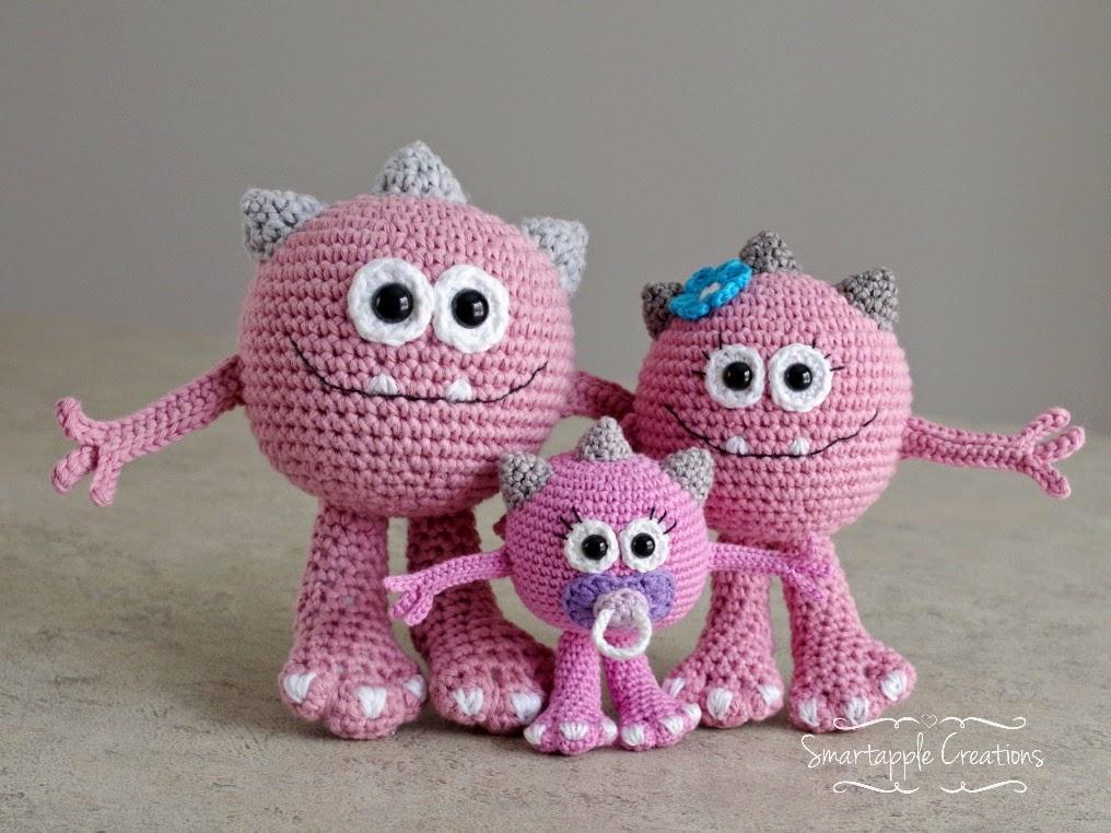 Amigurumi Monster Crochet : Smartapple Creations - amigurumi and crochet: New pattern ...