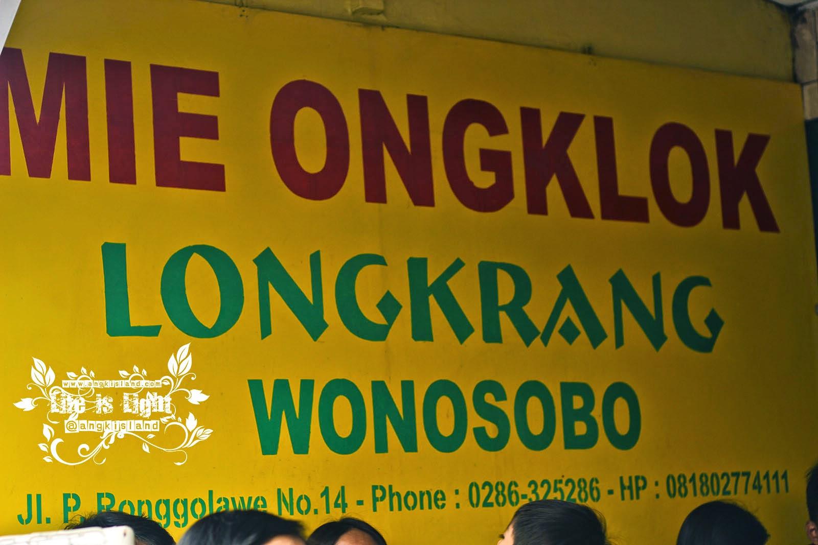Mie Ongklok longkrang