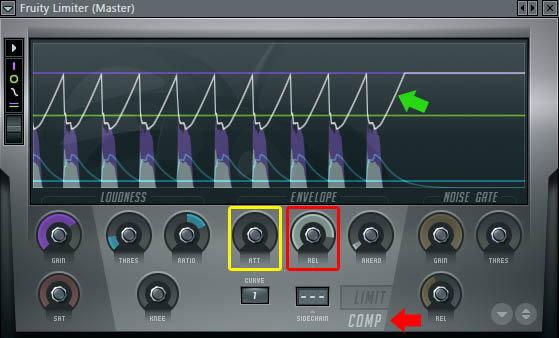FL Studio - Panduan Penggunaan Plugin Efek Compressor (Gambar 5)