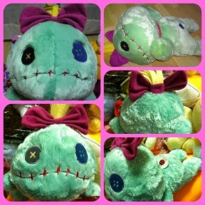 JAPAN DISNEY STORE LYING DOWN SCRUMP