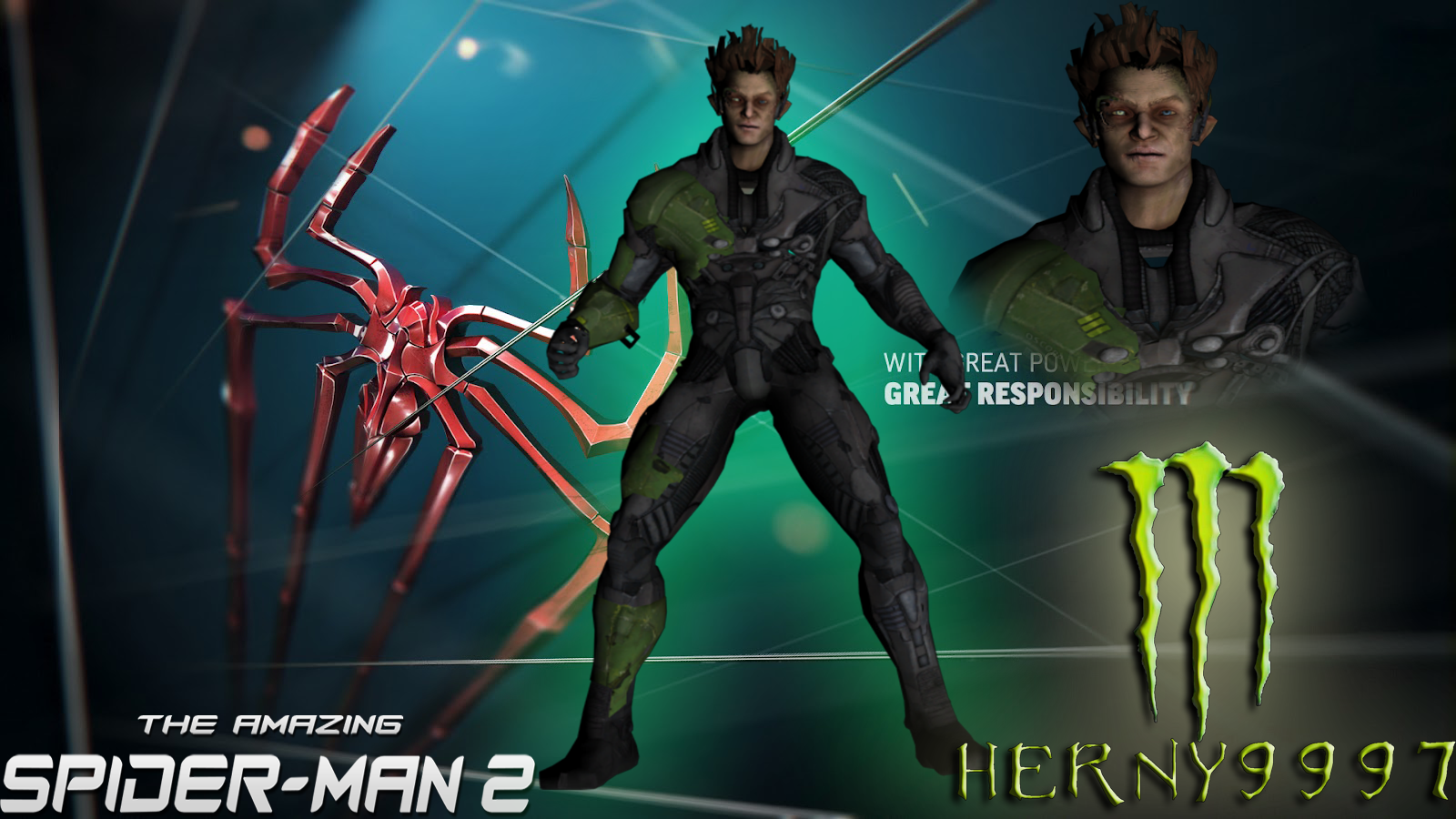 Green goblin amazing spider man