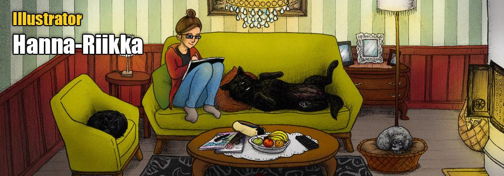 Illustrator Hanna-Riikka