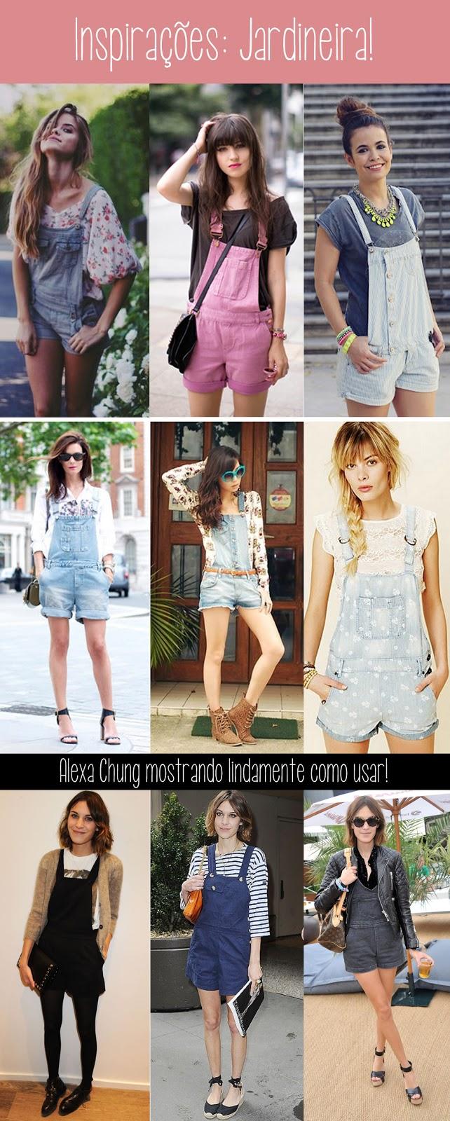 alexa chung, jeans, color, macação, macaquinho, com salto, mulher, feminina, moda, tendência, anos 90, onde comprar