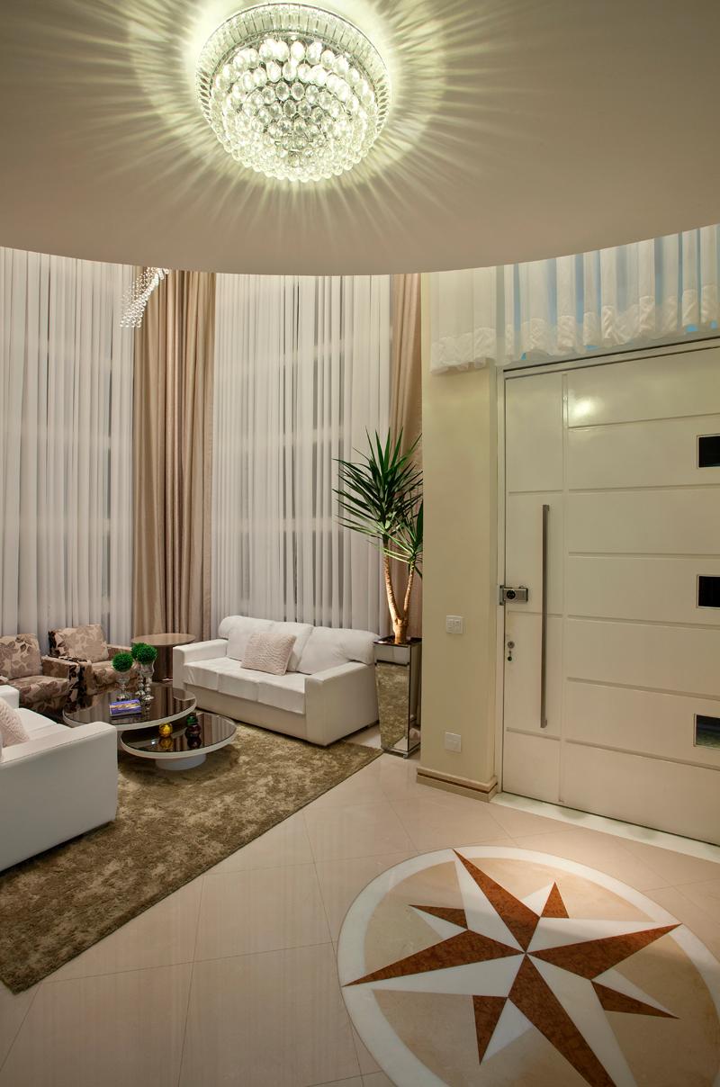 Sala De Estar Iara Kilaris ~  de entrada e salas decorados!  Decor Salteado  Blog de Decoração e