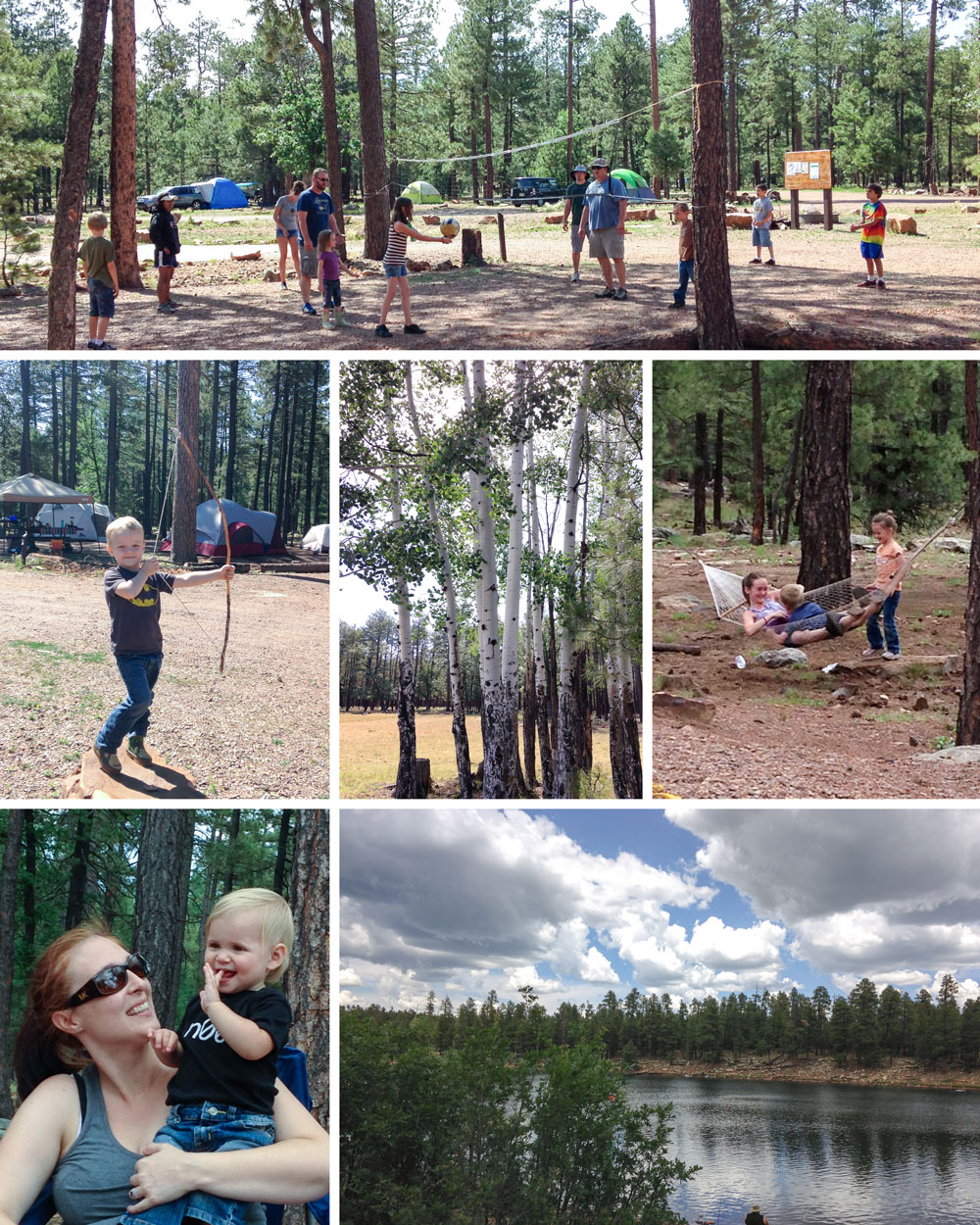 Camping Trip - Woods Canyon Lake, Sitgreaves National Forest, AZ