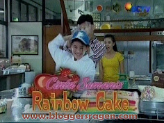 Cinta Semanis Rainbow Cake FTV