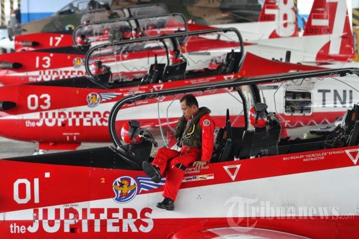 Pesawat Jupiter Aerobatic Team TNI AU Alami Kecelakaan di Malaysia