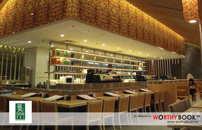 Sushi Tei Worthybook Japanese