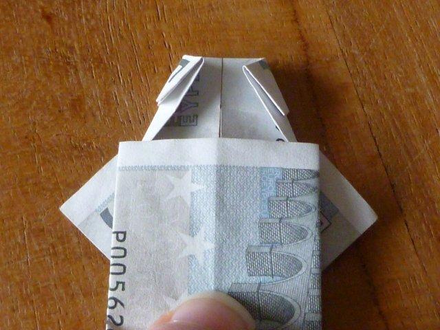Marly Design Van Briefgeld Een Shirt Vouwen