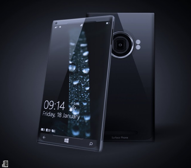 2013 Surface Phone Concept Innovation and Technological Advance