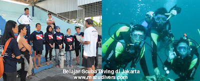 belajar scuba diving di jakarta