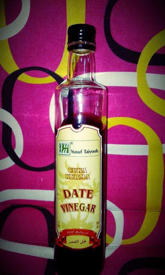 Cuka kurma, khasiat cuka kurma, cuka kurma dengan madu, vitamin cuka kurma, kebaikan cuka kurma