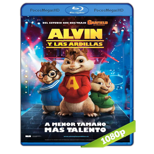 Alvin Y Las Ardillas (2007) BRRip 1080p Audio Dual Latino/Ingles 5.1