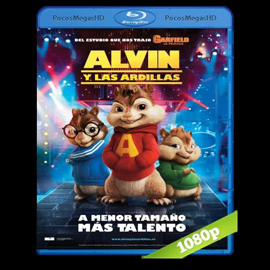 Alvin Y Las Ardillas (2007) BRRip 1080p Audio Dual Latino/Ingles 5.1