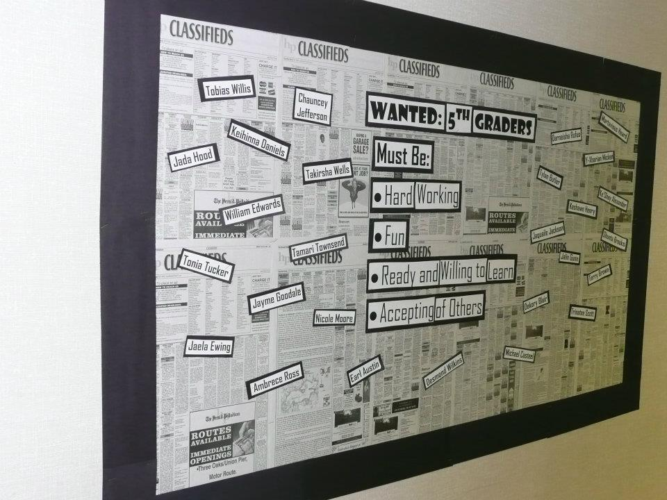 Classroom Newspaper Ideas : Best bulletin board ideas welcome