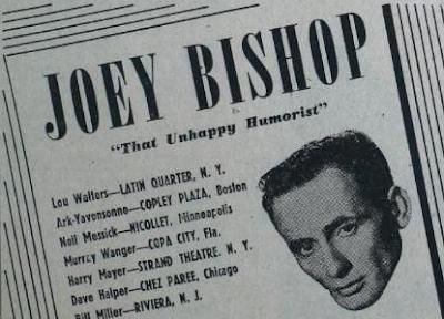 Joey Bishop Alive