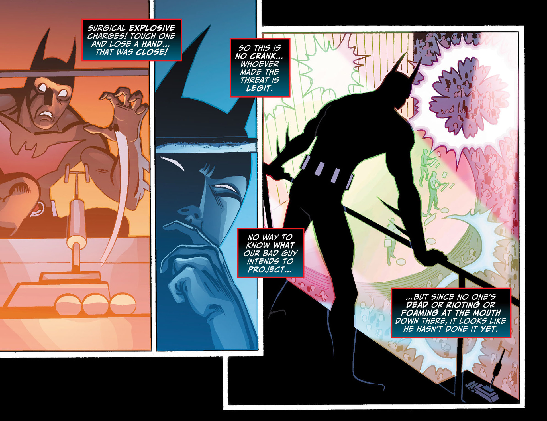 Batman Beyond (2012) Issue #21 #21 - English 19