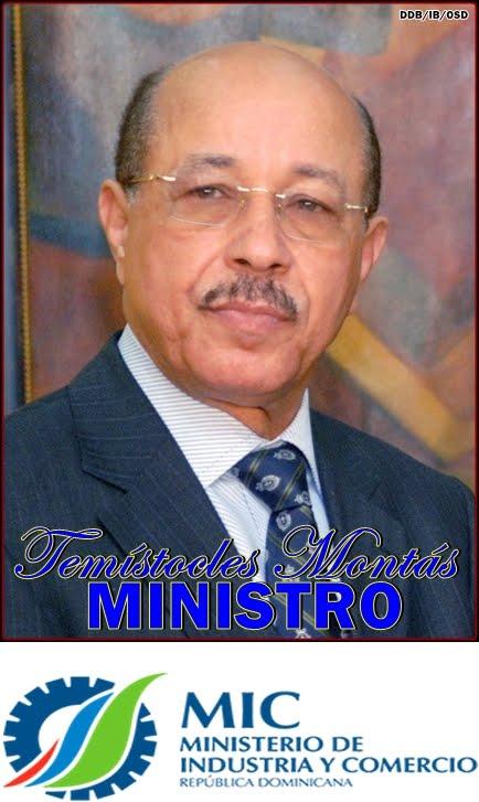 TEMISTOCLES MONTAS-MINISTRO DEL MINISTERIO DE INDUSTRIA Y COMERCIO