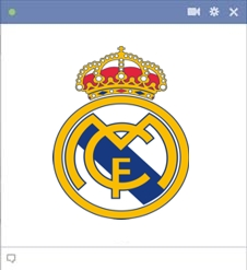 Real Madrid Smiley Emoticon For Facebook