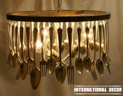 diy original unique chandeliers for kitchen
