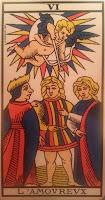 Los Enamorados- Tarot de Marsella