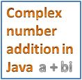 Add Two Complex Numbers and Display Sum in Java