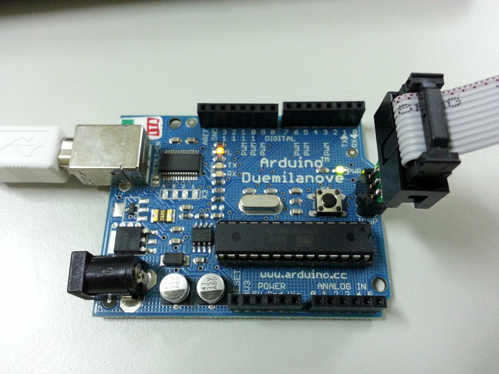 D i v e in technology usbasp 以 progisp 軟體燒錄 arduino