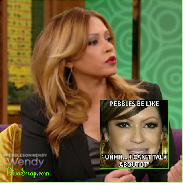 PEBBLES BE LIKE: IT WAS ALL LIES WENDY! PERRI PEBBLES REID VISIT WENDY WILLIAMS - DivaSnap.com