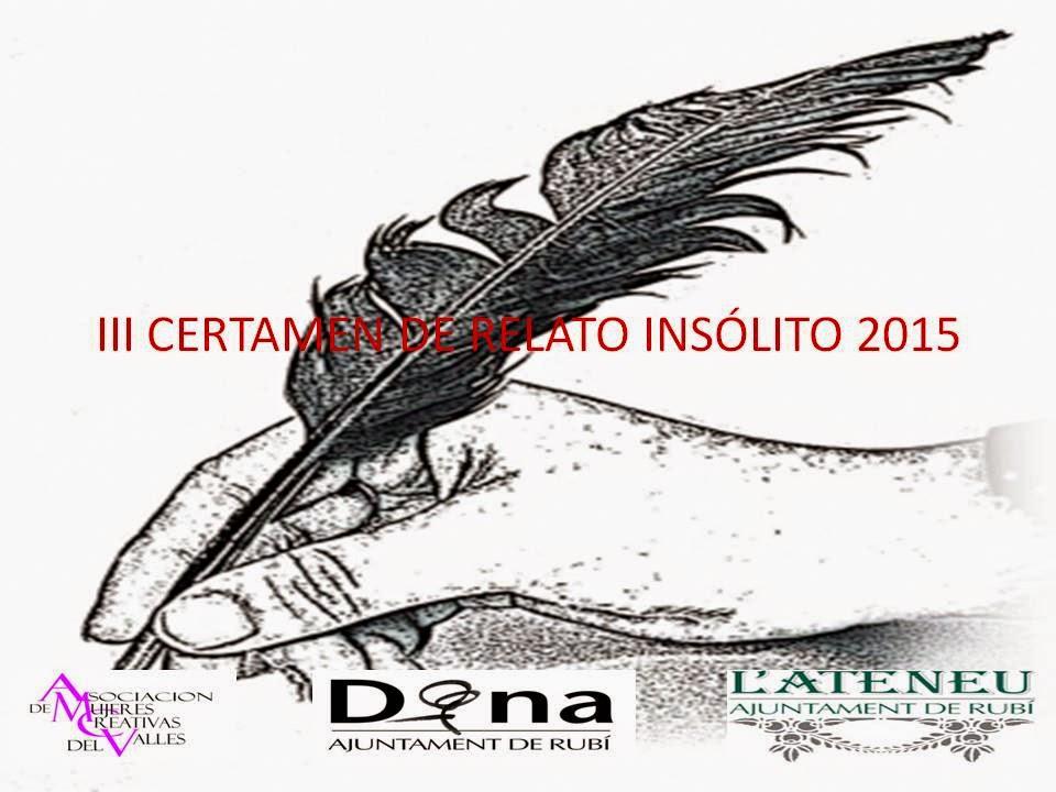 III CERTAMEN DE RELATO INSÓLITO