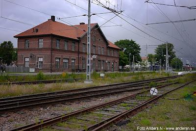Klippan, järnvägsstation, klippans station