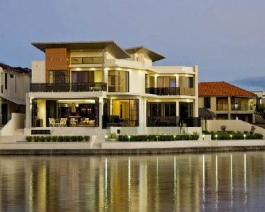Gambar Rumah Mewah Terbaru 2013