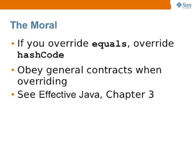 Equals and hashcode interview questions answers java