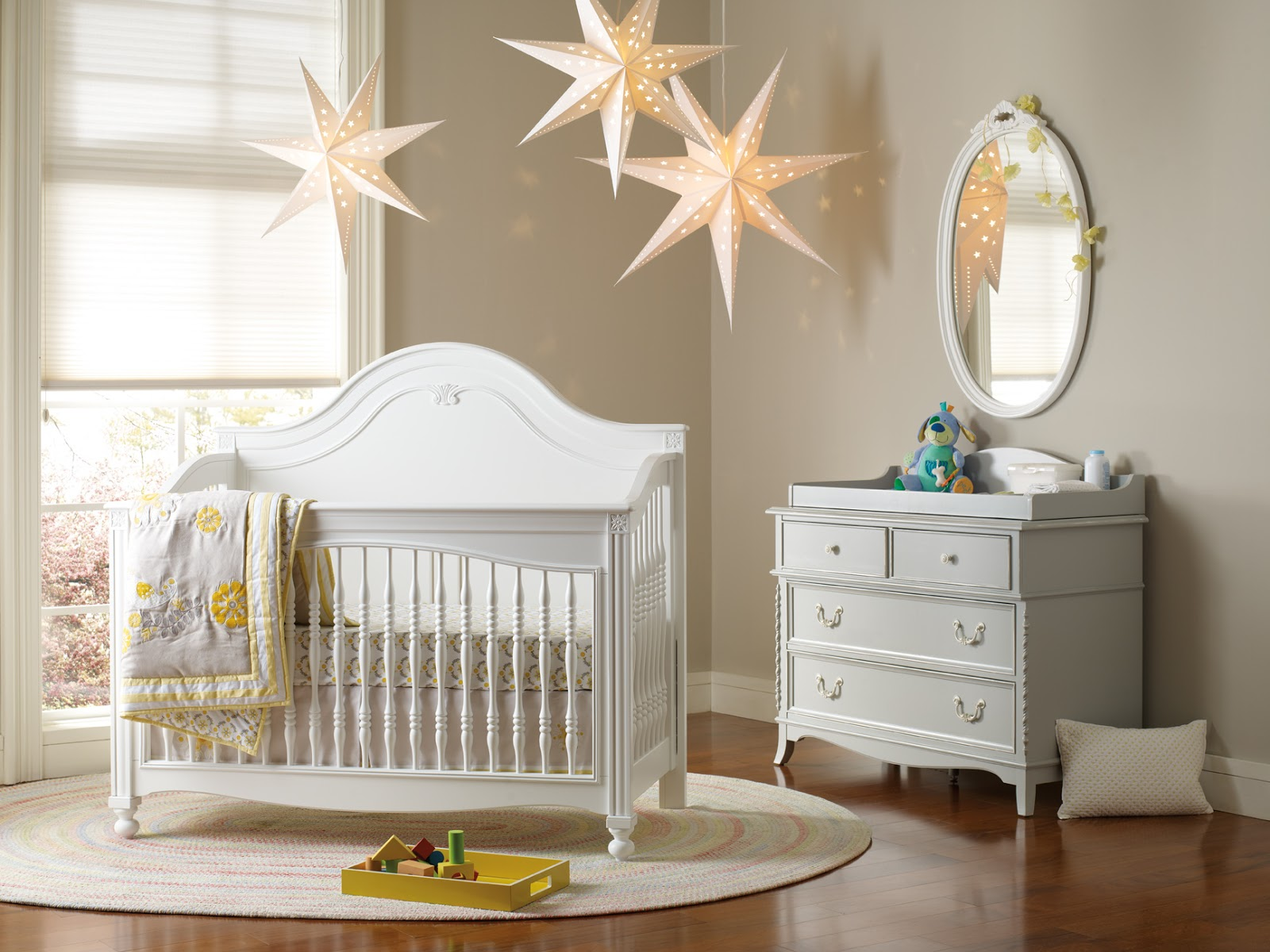 ikea baby room via