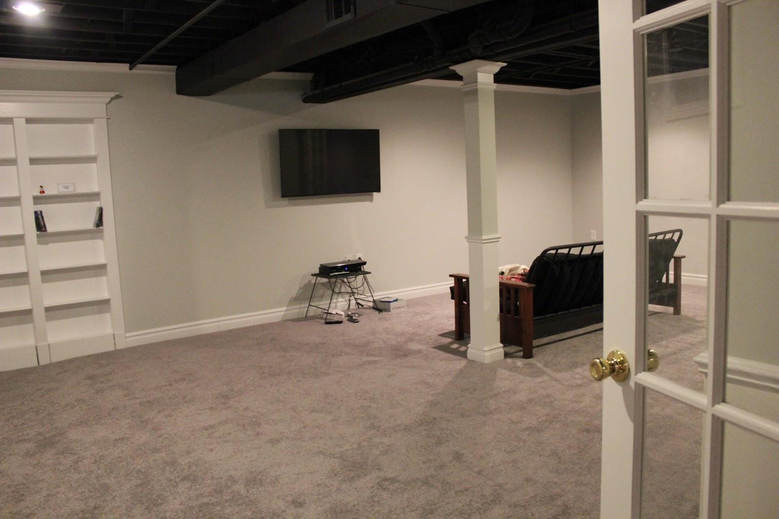 painted basement ceiling. Painted Basement Ceiling R