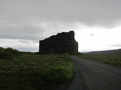 Asbyrgi from the front, Iceland