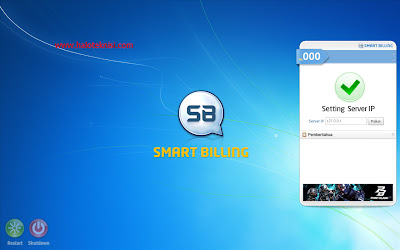 Tampilan Desktop Smart Billing