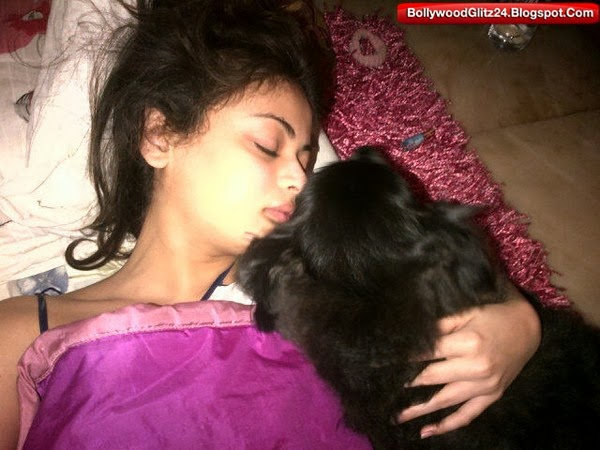 Sneha ullal Clicked While Sleeping