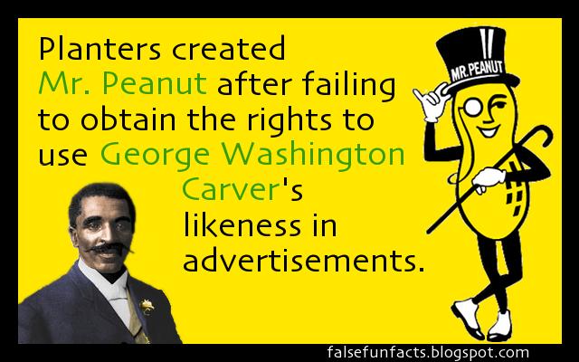 False Fun Facts: Mr. Peanut on