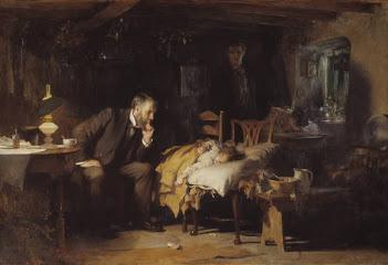 """El Doctor"", un cuadro de Sir Samuel Luke Fildes (1891)"
