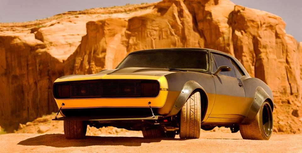 Mobil baru dan tampilan baru Optimus Prime dan Bumblebee di film Transformers 4
