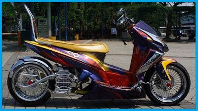 Modifikasi Honda Vario_Lowridier - Kumpulan Gambar Modifikasi Motor